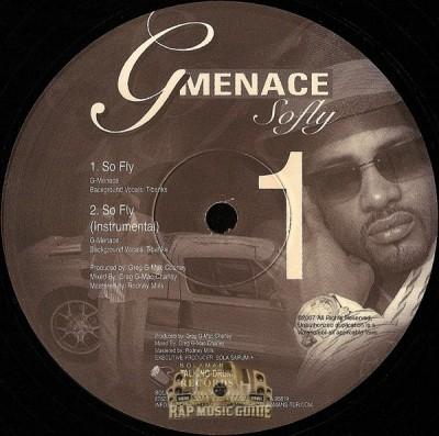 G-Menace - So Fly