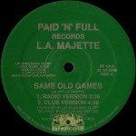 L.A. Majette - Same Old Games