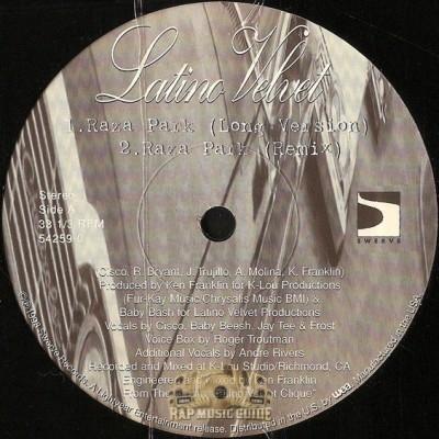 Latino Velvet - Raza Park
