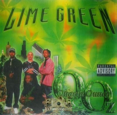 Quarter Ounce - Lime Green