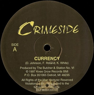 Crimeside - Currency