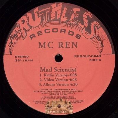MC Ren - Mad Scientist, Mind Blown