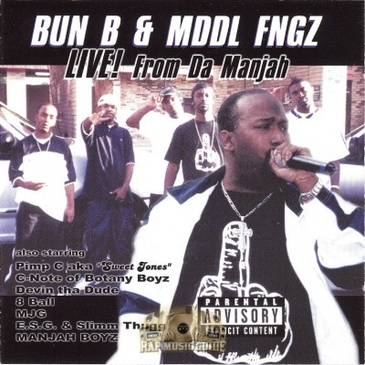 Mddl Fngz - Live! From Da Manjah
