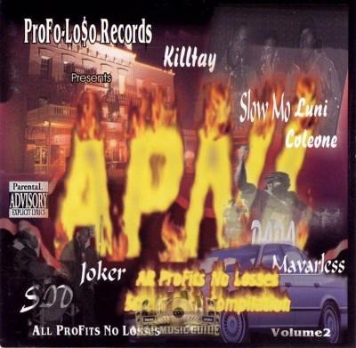 A.P.N.L. - All Profits No Losses Vol. 2 Street Cash Compilation