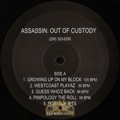 Assassin - Out Of Custody