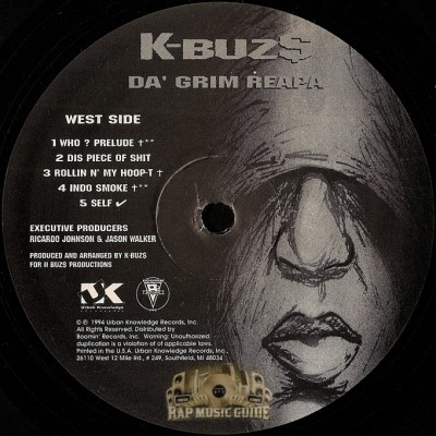 K-BUZ$ - Da' Grim Reapa