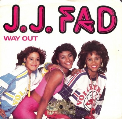 J.J. Fad - Way Out/ Now Really
