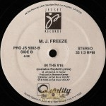 MJ Freeze - I Be Sidin' EP