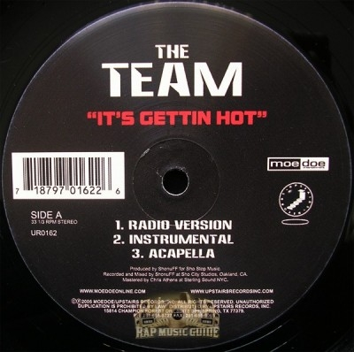 The Team - It's Gettin Hot