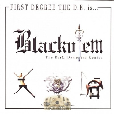 First Degree The D.E. - Blackulem, The Dark Demented Genius