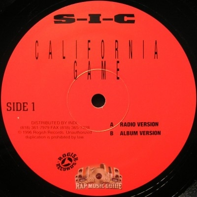 S-I-C - California Game