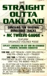 MC Twelve Gauge - Straight Outta Oakland