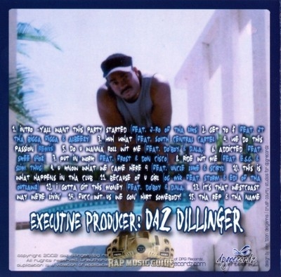 Daz Dillinger - Who Ride Wit Us Vol.2 Tha Compilation