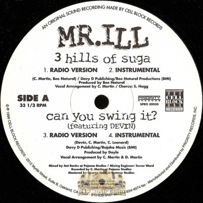 Mr. ILL - 3 Hills Of Suga