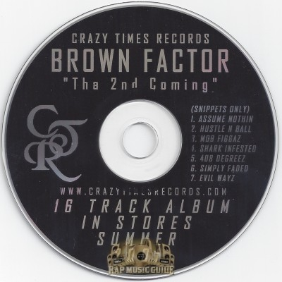 Brown Factor - Tha 2nd Coming: Snippets Only