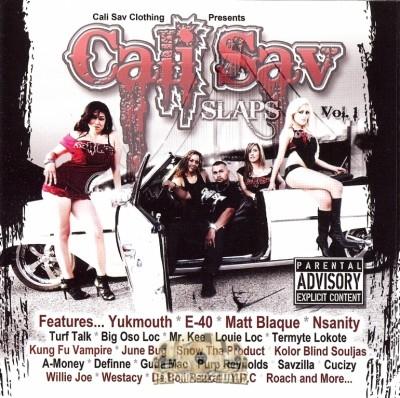 Cali Sav - Cali Sav Slaps Vol. 1