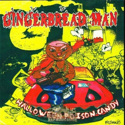 The Gingerbread Man - Halloween Poison Candy