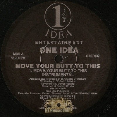 One Idea - Move Your Butt To This / Loving U