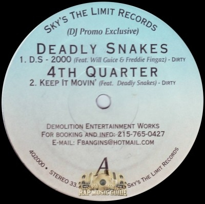 4th Quarter - Deadly Snakes