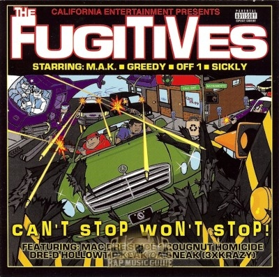 The Fugitives - Can't Stop Won't Stop