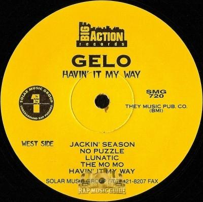 Gelo - Havin' It My Way