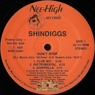 Shindiggs - Don't Stop