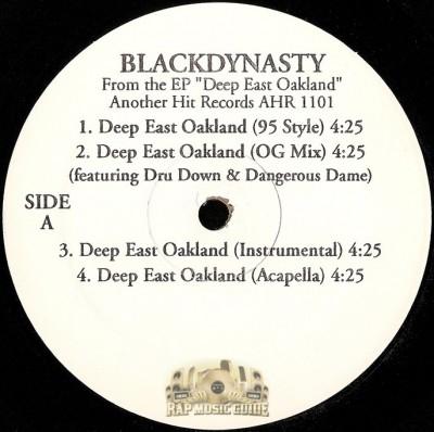 Black Dynasty - Deep East Oakland EP