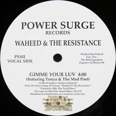Waheed & The Resistance - If I Had To Kill