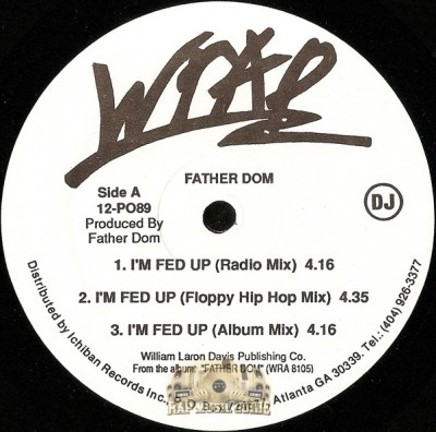 Father Dom - I'm Fed Up