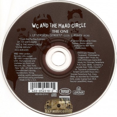 WC And The Maad Circle - The One