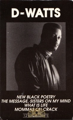 D-Watts - The New Black Poetry