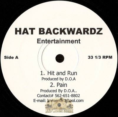 Hat Backwardz Entertainment - Hat Backwardz Compilation EP
