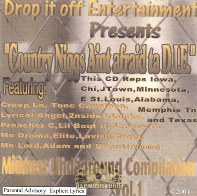 Country Niggas Ain't Afraid Ta D.I.E. - Midwest Undaground Compilation Vol. 1