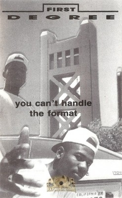 First Degree - You Can't Handle The Format