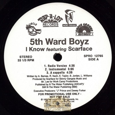5th Ward Boys - I Know/ Heat