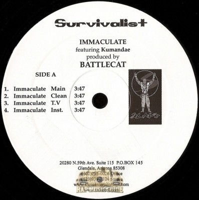 Survivalist - Immaculate / Wide Open