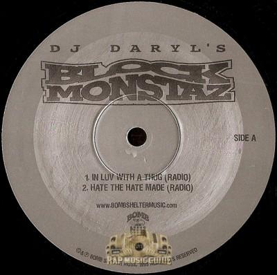 DJ Daryl's Block Monstaz - Bomb Shelter Music Family EP