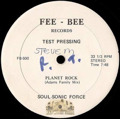 Soul Sonic Force - Planet Rock (Adams Family Mix)