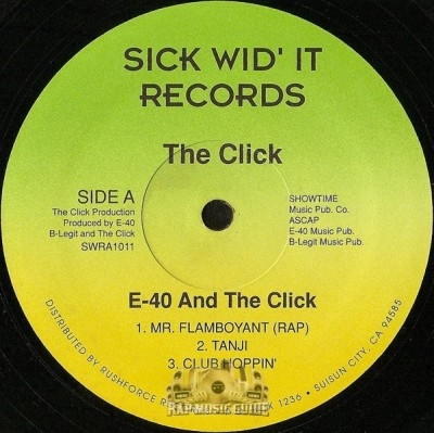 E-40 And The Click - Mr. Flamboyant