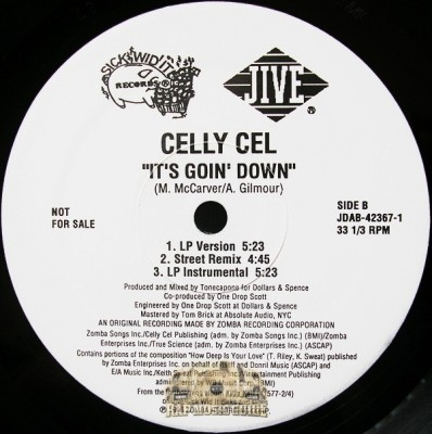 Celly Cel - It's Goin' Down