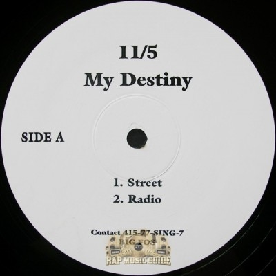 11/5 - My Destiny