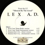 Lex A.D. - Silenced By The Greed EP
