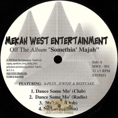 Mekah West Entertainment - Somethin' Majah EP
