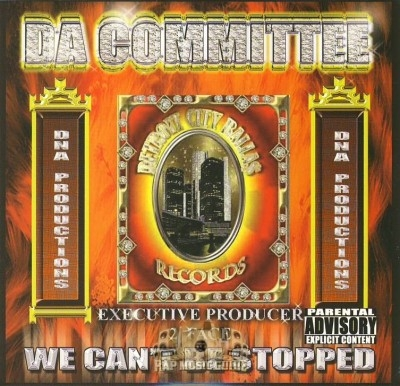 Da Committee - We Cant Be Stopped