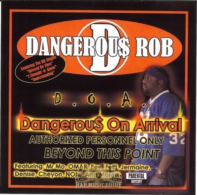 Dangerous Rob - Dangerous On Arrival