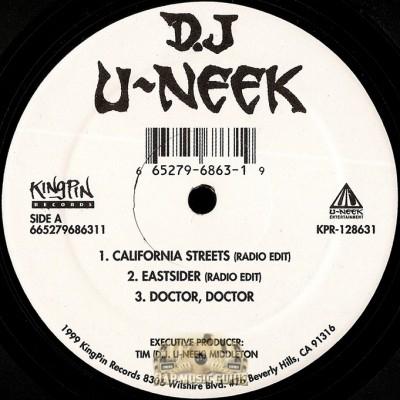 DJ U-Neek - California Streets