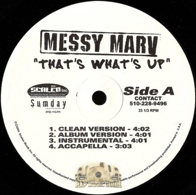 Messy Marv - That's What's Up