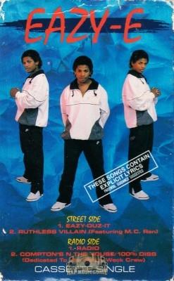 Eazy-E - Eazy-Duz-It/Ruthless Villain/Radio/Compton's N The House