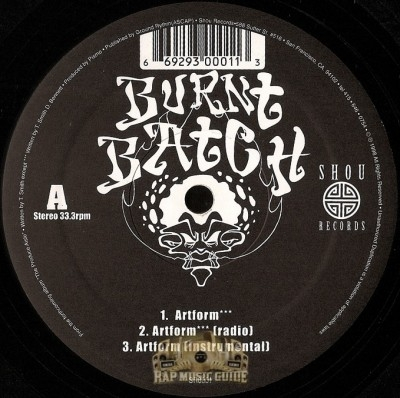 Burnt Batch - Artform / Herbalism