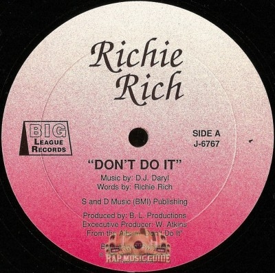 Richie Rich - Don't Do It / 415